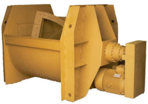 Single shaft mixers MA